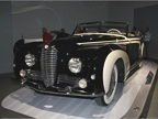 The 1953 Delahaye Type 178 was powered by a triple-carburetor,