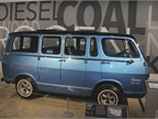 The 1966 General Motors Electrovan was the first hydrogen fuel cell
