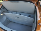 The 17 cubic feet of cargo space is supplemented by a hidden