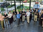 In 2010, Chrysler Fleet honors Ed and his team for their many years of