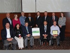 Commercial fleet award recipients in attendance were top row, (l-r):