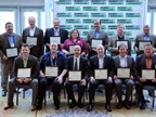 The sustainability all-stars in attendance. Read more about the award