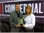 Senior Editor Chris Wolski presents the Medium-Duty Truck of the Year