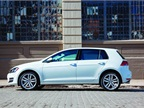 DIESEL The seventh generation Volkswagen Golf is 79-pounds lighter,