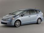 The Prius V was designed from the ground up rather than built on the existing Prius platform, Toyota stated.