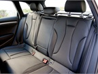 A rear bench seat accommodates two adults and a third smaller adult or