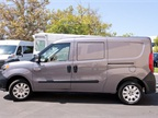A pro-production ProMaster City compact van was shown to Bobit
