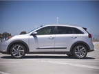 At 171.5 inches in length, the Niro is about 5 inches shorter than the