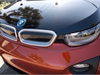 The i3 gets BMW s trandmark  kidney grille  design without air intake