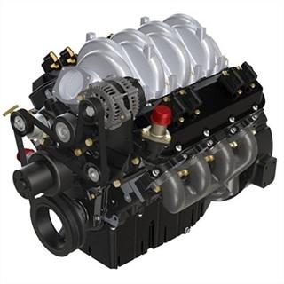 <p>PSI's 8.8L Engine (PHOTO: PSI)</p>