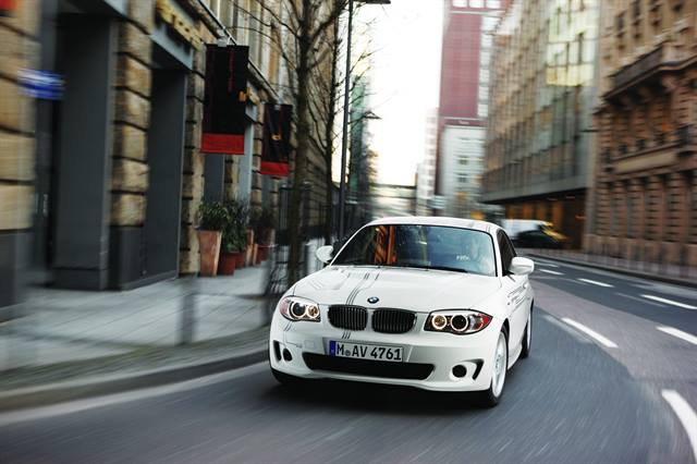 <p>BMW's all-electric ActiveE is the automaker's second electric vehicle made available to consumers and fleets, and will be available for lease in fall 2011.</p>