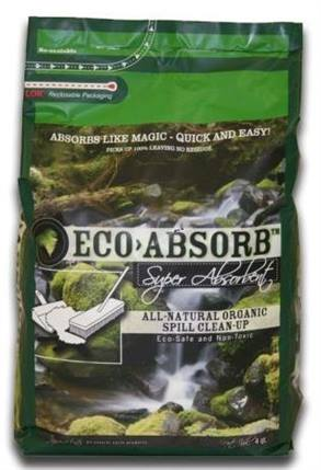 <p>Eco Absorb is used to clean up oil spills and more.<br /><em>Photo courtesy Eco Absorb</em></p>