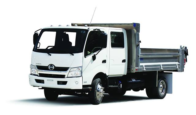 <p>Hino's Class 5 COE trucks feature a diesel or diesel-electric hybrid powertrain and can be used for a wide range of applications. </p>